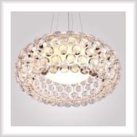 Acryl Lamps crystal pendant light bedroom crystal lamp acrylic lamp ball pendant light living room lights chandelier for bedroom