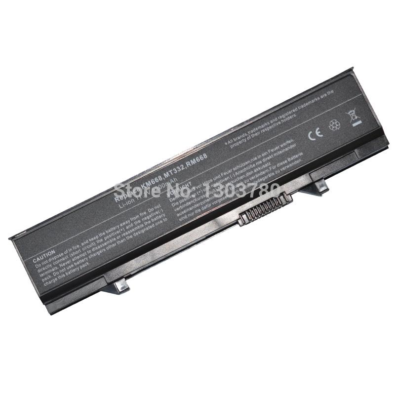 6 сотовый <b>аккумулятор для ноутбука dell</b> KM742 KM752 KM760 ...