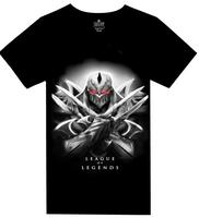 2014 new men's short sleeve T-shirt League LOL animation game peripheral T-shirt  modern fashion design size XS-XXXL L015
