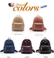 New Womens Backpack Rucksack Casual Bags Pu Leather Backpack School Book Handbag