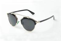 Fashion Summer Sun Glasses Coating Sunglass Oculos De Sol Cat Eye Sunglasses Women Brand Designer Vintage Gafas Feminin 925D
