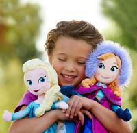 "Classic Frozen olaf Elsa Anna Plush Doll 50cm 19.7"" Princess Doll Bonecas Frozen Toys Dolls Brinquedos Kids Dolls for Children"