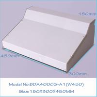 (1  )150x300x450 mm aluminum extrusion enclosure box instrument enclosure box pcb out let enclosures
