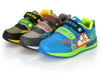 Free Shipping New 2014  Children with flash light Shoes  Kids fashion Sneakers size 4-7T