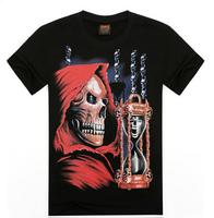 men fashion 3D print  T shirt soft cotton novelty men shirts euro style short sleeve men tees size S-XXL L018