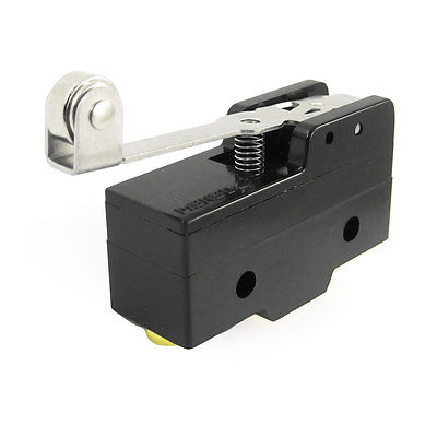Panel Mount Long Hinge Roller Lever AC DC Basic Micro Switch RZ-15GW2S-B3(China (Mainland))