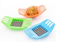 2014 New 12pcs/sets Stainless steel potato cutting device, cut fries device