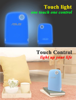 Nice Gift Blue LED Touch lamp with Touch Pen touch control different&mysterious feeling in night with you computer free shipping
