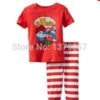 1640 Cuddle me boy Pajamas Set/kids clothes/wholesale in Guangzhou/ supply from http://www.yoyofashion.net(China (Mainland))