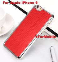 2014 New Chrome Hard Case Aluminum Cover Back Case  for Apple iPhone 6