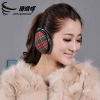 new 2014 Screw thermal winter earmuffs plush folding earmuffs ear package winter mask