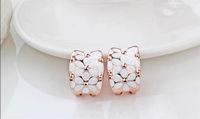 alina Rigant Austrian Crystal Hoop earring/fashion jewelry/earrings crystal With Austrian Crystal Stellux Bulk