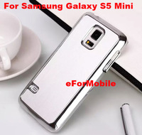 2014 New Chrome Hard Case Aluminum Cover Back Case  for  Samsung Galaxy S5 MINI SM-G800