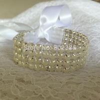 Bridal Pearl Bracelet Wedding Hair Accessories