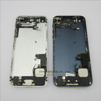 For iPhone 5 Back Battery Housing Cover Assembly with full small parts Black and White color free shipping