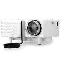 UC28+ 400 Lumens Home Mini LED Projector 320 x 240 Native Resolution 16:9 Aspect Ratio Supports HDMI/USB/VGA/IR/SD Card