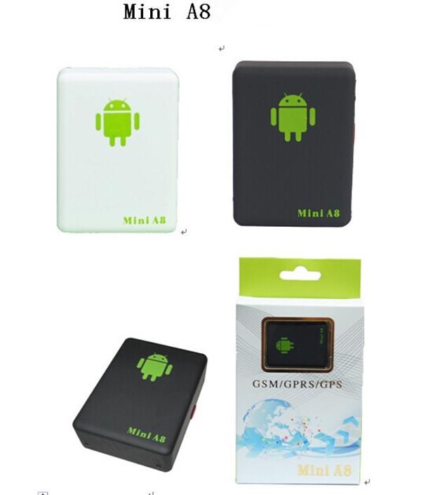 Car Tracker Box Environmental monitoring GSM GPS Audio Device mini A8 children elder(China (Mainland))