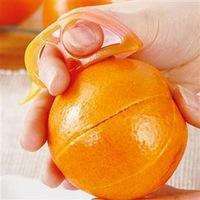 Creative home little mouse open orange peel orange is orange peeler is two loaded E9861