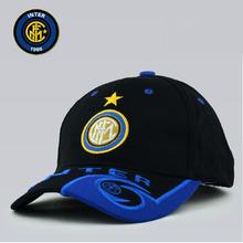 New Style Sports Inter Milan Baseball Hat  Cap Soccer Club Badge Inter Milan Peaked Cap Accessories