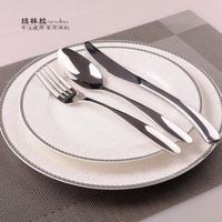 10 inches round plate bone china plate