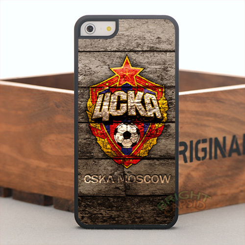 CSKA Moscow FC Football Hard Cell Phones Cover Case for Apple iPhone5 5s 5c Cases 4s and 4 With One Gift(China (Mainland))
