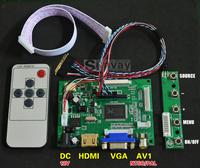 "10.1"" inch 1280*800 LED Backlight LCD controller board kit Netbook screen DIY monitor driver board"