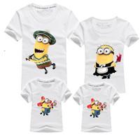 With children 2014  fashion summer t-shirt 100% cotton Despicable me children t shirt,toddler baby kids