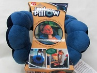 1pc New 2014 Travel Total Pillow Amazing Versatile Neck Massage Sleeping Pillow Massager As Seen On TV