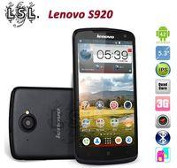 "Original Lenovo S920 Quad Core Mobile Phone 5.3"" MTK6589 IPS 1280x720px Screen 1GB RAM 4GB ROM 8.0mp Android 4.2 3G GPS Dual SIM"