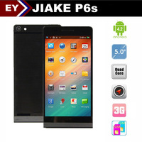 "Free Shipping Huawei P6 JIAKE P6 MTK6582 Quad Cores 1.3GHz  Android 4.2 OS 3G 5"" Smart phone with Air Gesture GPS 13.0MP Camera"
