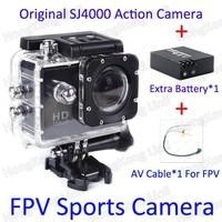 Action Camera Full HD DVR Sport DV FPV CAMERA SJ4000 1080P Helmet Waterproof Camera 1.5inch G Senor Motor Mini DV 170 Wide Angle