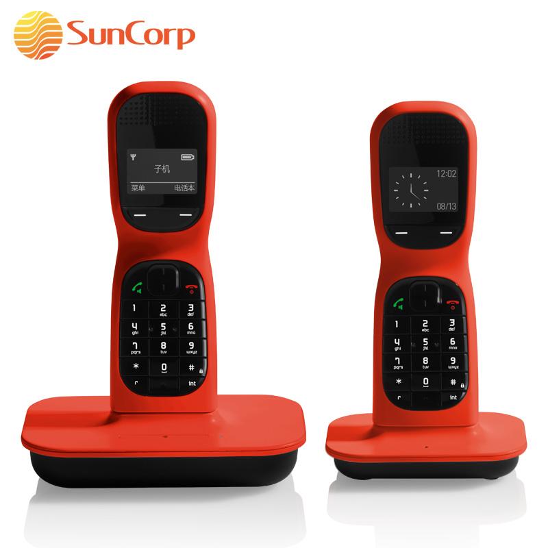 Colombo fashion digital cordless two phones fashion cordless phone caller id(China (Mainland))