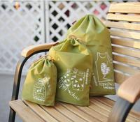 M square storage bags multifunctional travel pocket bags three piece / set