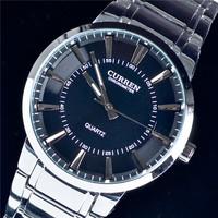 2014 Brand New Fashion CURREN  Military Quality Steel Waterproof Watch Sport Watch Quartz Watch Free Shipping