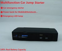 Free shipping Multi function power bank with Car jump starter function emergency LED light