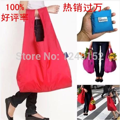 Large portable eco-friendly bag shopping bag Oxford silk cloth folding storage bag waterproof travel storage bag(China (Mainland))