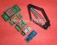 Free Shipping! PLCC44 PLCC32 PLCC28 PLCC20 SOP8 OR SOP16 Socket Adaptor TL866CS TL866A EZP2010 G540 G840 SP300U SP8-A Adaptor