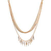 Free Shipping 2014 New Arrival Fashion Women Accessories Antique Gold/Silver Plated Chunky Chains Statement Necklace Jewelry