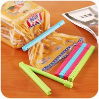 Home home Colorful fresh food sealed clip plastic clip seal bag sealer 6 installed K1374