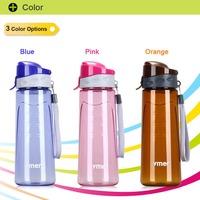 Wholesale 650ML Portable PC Sports Drinkware Camp Bicycle Travel Water Drink Bottle Tea Blender Garrafa Universal Free Shipping