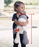 50cm Mamaspapas cow oversized the bell cattle placarders child plush toys baby educational toys free shipping