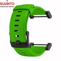 Suunto Core Elastomer ORIGINAL Green Rubber Watch BAND Strap Kit w/ 2 Pins
