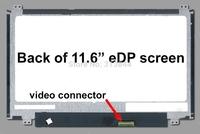 Brand new A+ B116XTN01.0 N116BGE-E32 N116BGE-EA2 LCD Screen up down ear 30pin eDP