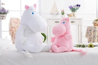 Cute Moomin Snorkmaiden plush toys, dolls Hippo Moomin Valley 1m large toys pillow send girls Valentines Day gift Christmas gift