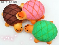 10pcs/lot,Free Shipping Squishy Charm Cell Phone Straps Squishies Tortoise Shape Squishy  Wholesale #810