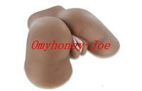 free shipping - black color 3d solid sex dolls, soft silicon vagina pussy ass dolls, lifelike love dolls, male masturbator