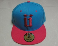Unkut  snapback caps hot blue with pink most popular men and  women hip hop baseball hats top quality  freeshipping !