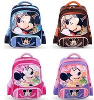 Free shipping baby children school  bag  boys girls  school backpack mochilas coffe / purple / rose red / blue