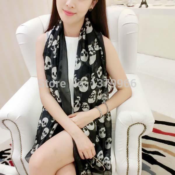 175cm*90cm new fashion style brand women high quality silk scarf square scarf free shipping(China (Mainland))