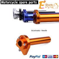 Free shipping CNC Motorcycle Dirt Pit bike CHEAPER QUICK ACTION THROTTLE HANDLE